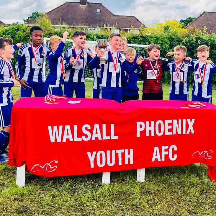 City U10s Win The Walsall Phoenix Tournament!