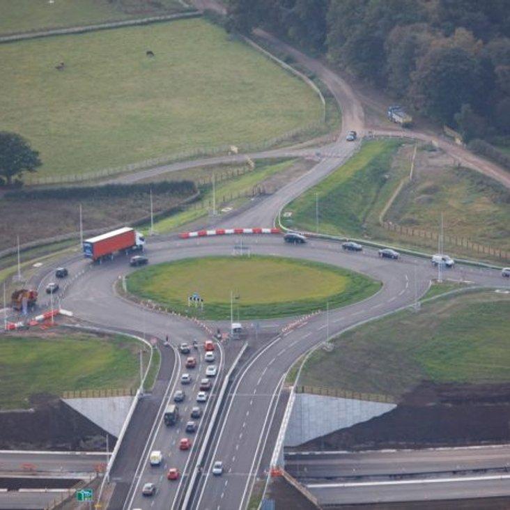 A556 (M56/M6 connector) Road Closures Feb-March 2017<