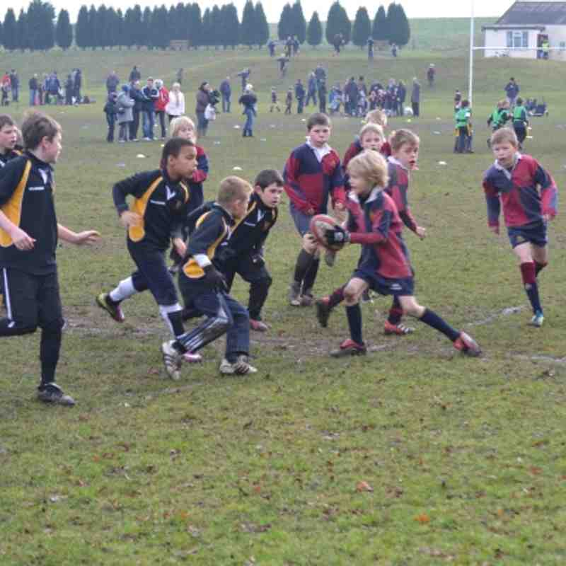 U9s v Newark & Amber Valley 29th Jan 2012