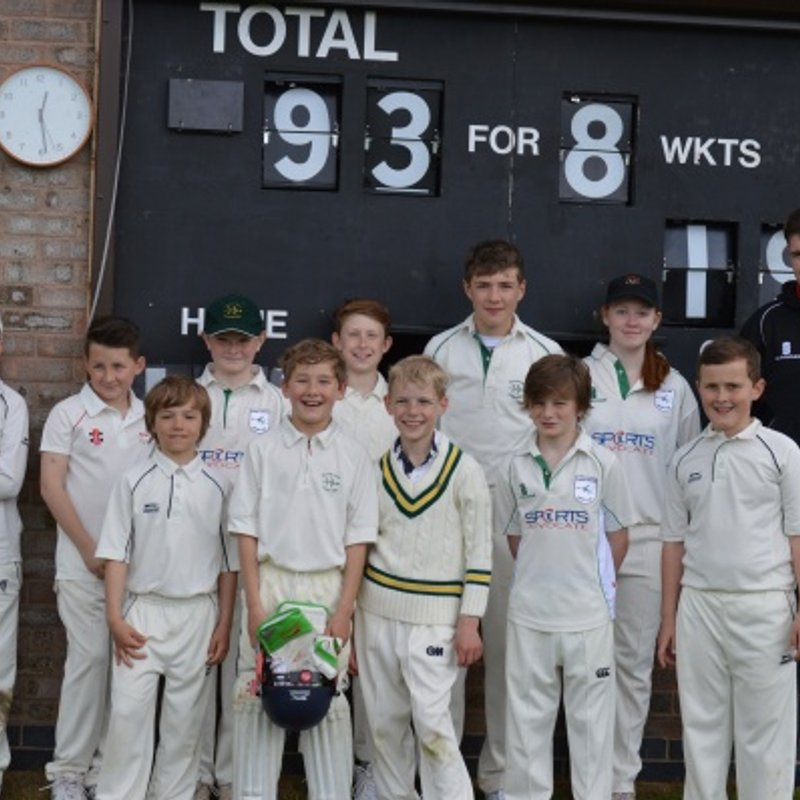 Barrow Town Cricket Club Juniors 128/6 - 102/7 Greenfields