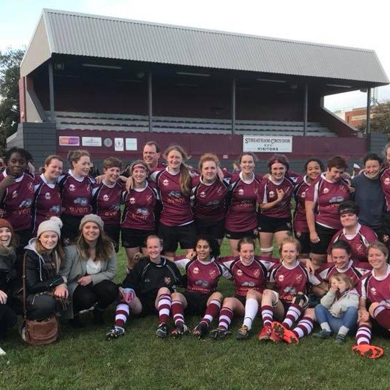 Ladies 1st XV- Salamanders beat Cuffley Ladies 35 - 5