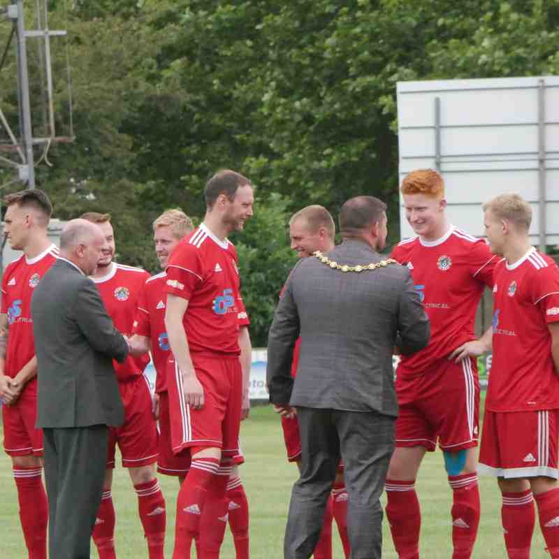 BIDEFORD V CARDIFF CITY XI (Courtesy of Amy Doble)