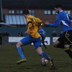 Playoff semi final, Bottesford Town F.C 2-0 Hallam F.C