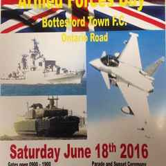 ARMED FORCES DAY AT BOTTESFORD TOWN