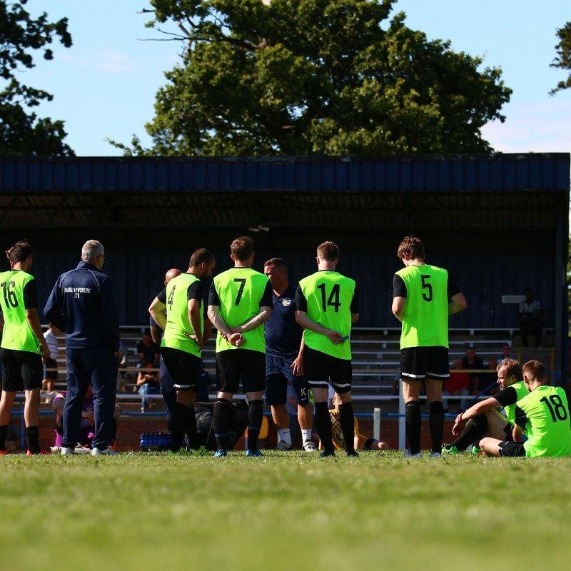 Hall Road Rangers 2-1 Bottesford Town (pre-season)