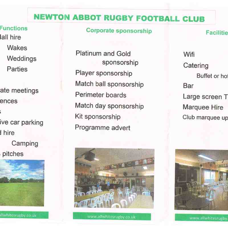 NARFC Commercial opportunities