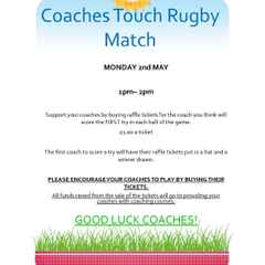 NARFC JUNIORS - Coaches Touch Rugby Match