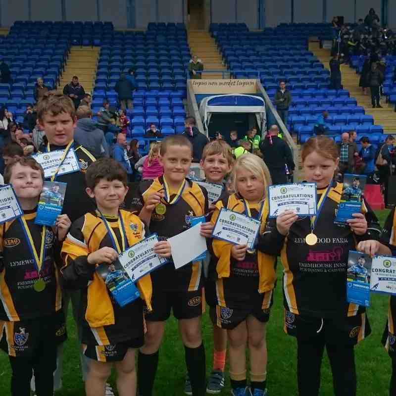 Warrington Wolves Community Day 2015
