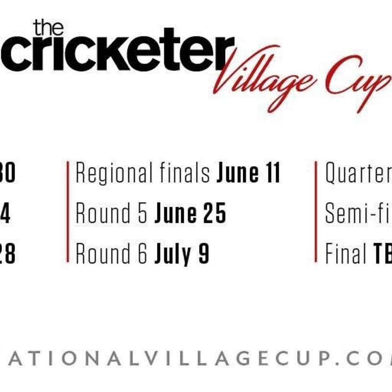 National Village Cup Dates
