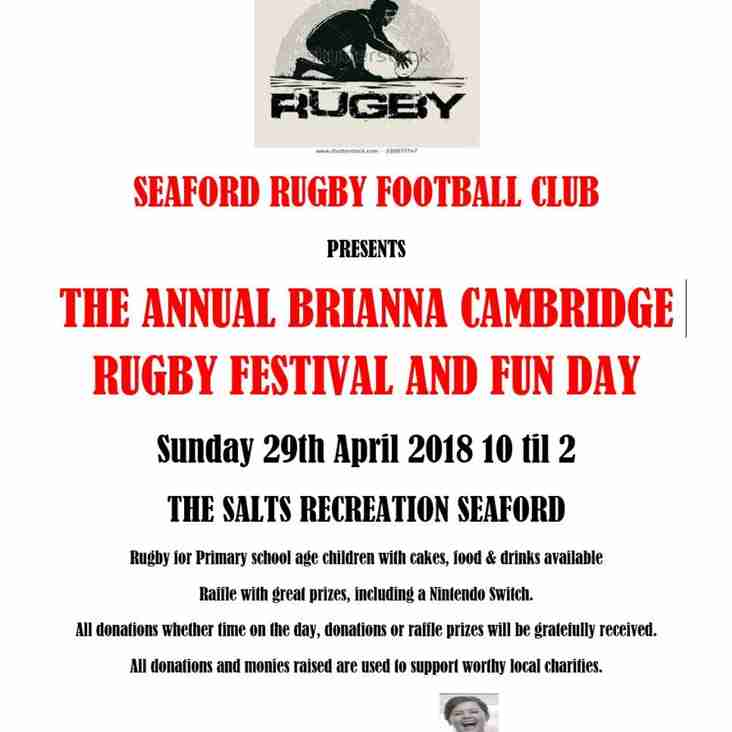 The Annual Brianna Cambridge Day