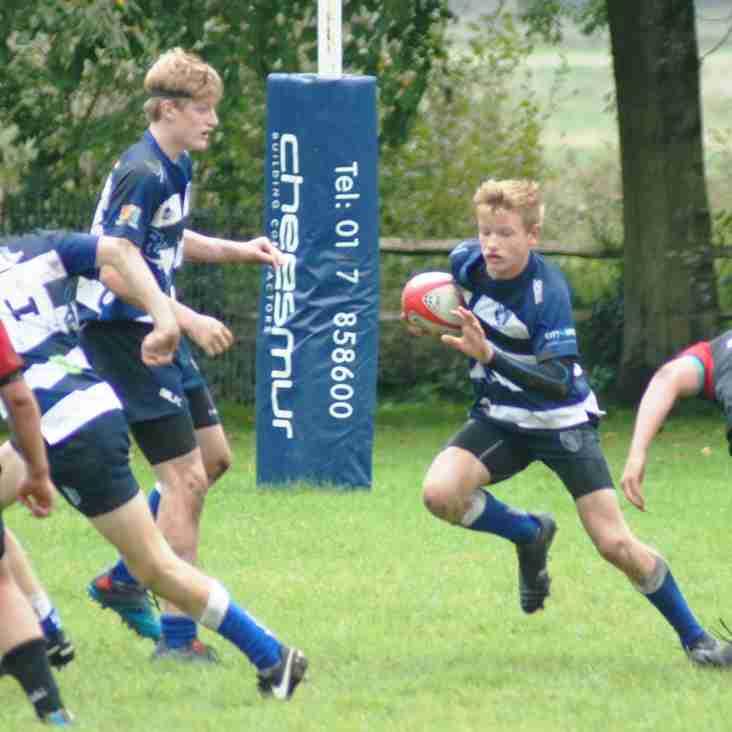 Minis enjoy first festival, U14s win away but tough home fixtures