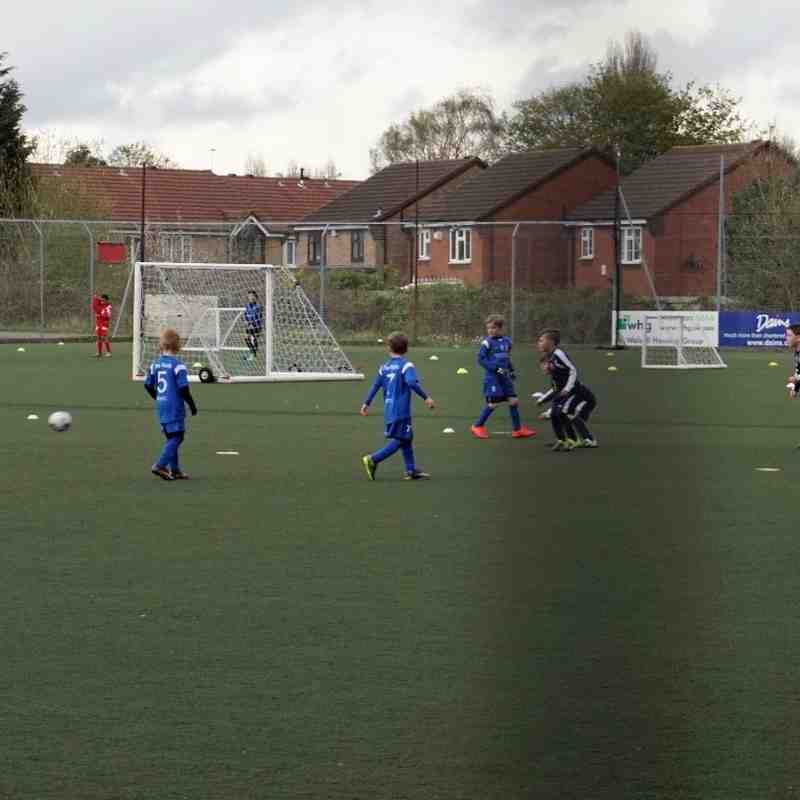 Gary Jenkins U7's vs Walsall Acadamy 25.04.16 - Great Win Lads