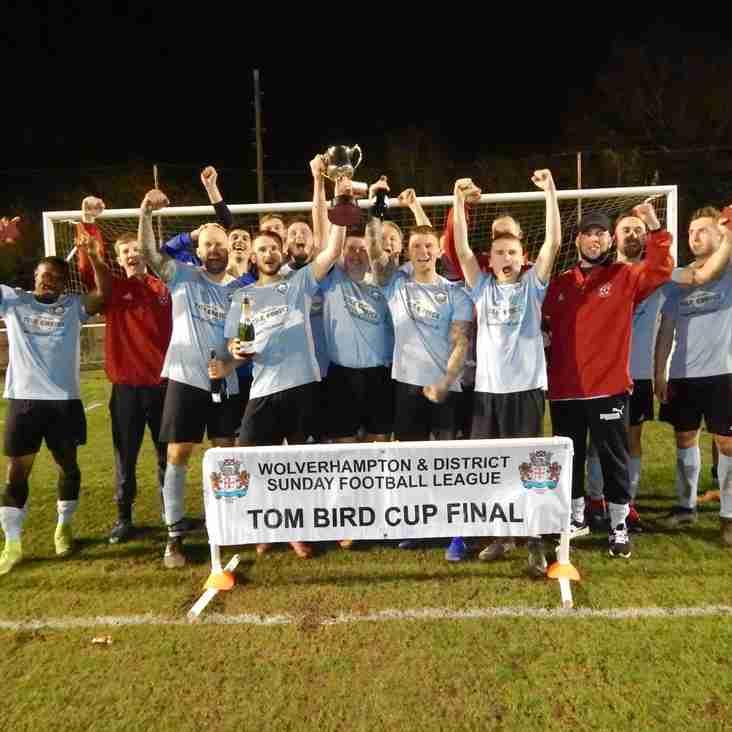 Three Cups FC  Win the Tom Bird Cup 2019
