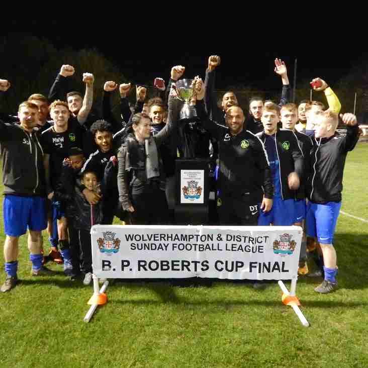 RG Win B P Roberts Cup 2019