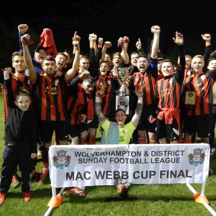 Golden Lion Win Mac Webb Cup Final