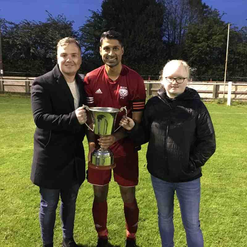Ken Pemberton Cup Final 2019