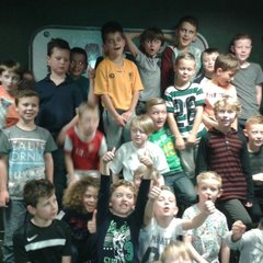 Under 9's 2015 Christmas Party at Laser Combat