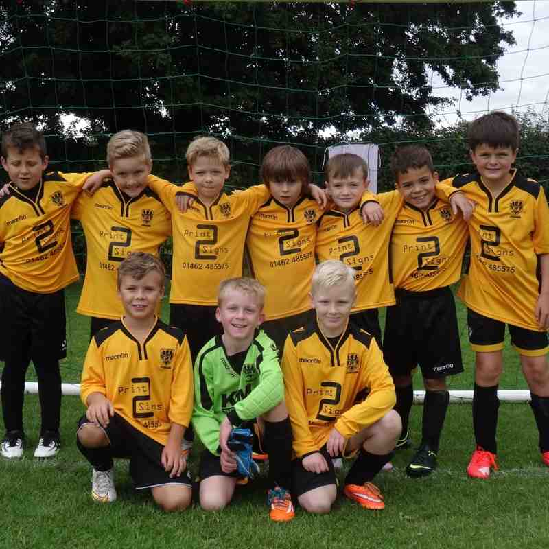 Under 9's Ambers and Blacks v Melbourne 05.09.2015