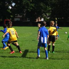 Under 9's Ambers and Blacks v Bishops Stortford 19.09.2015