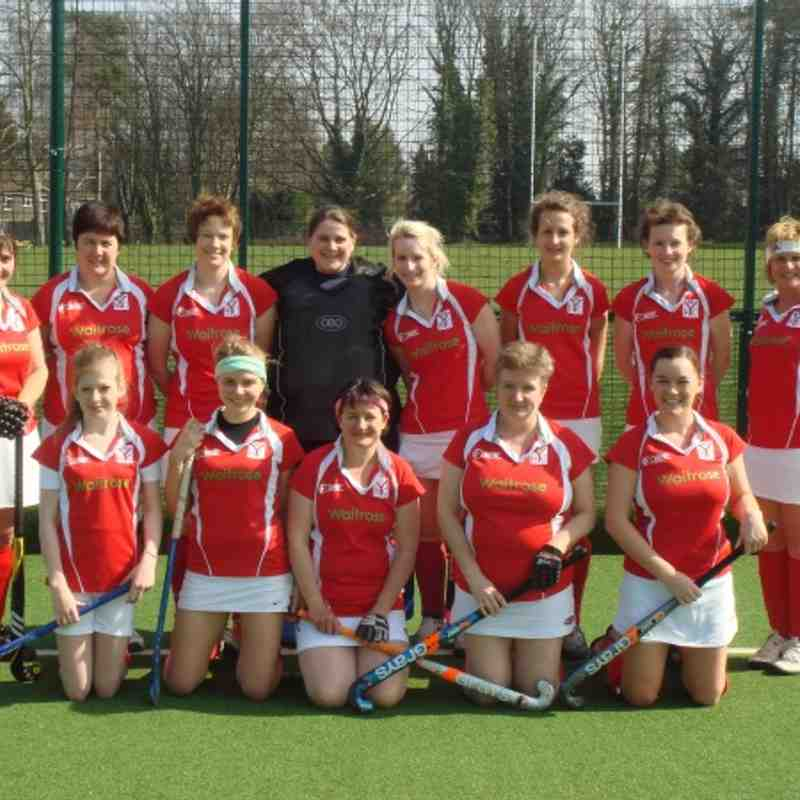 Ladies 3's Promotion Season 2012
