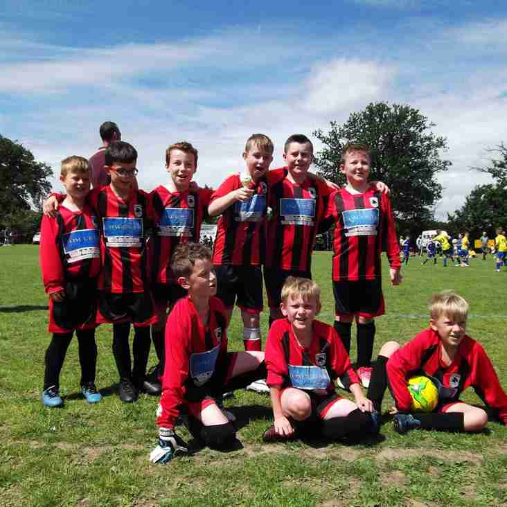 U10s Finish A Point Away From League Win