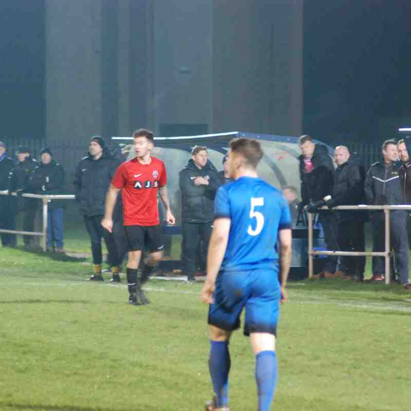 Desborough Town v Eastwood Community FAV3, 2017/18