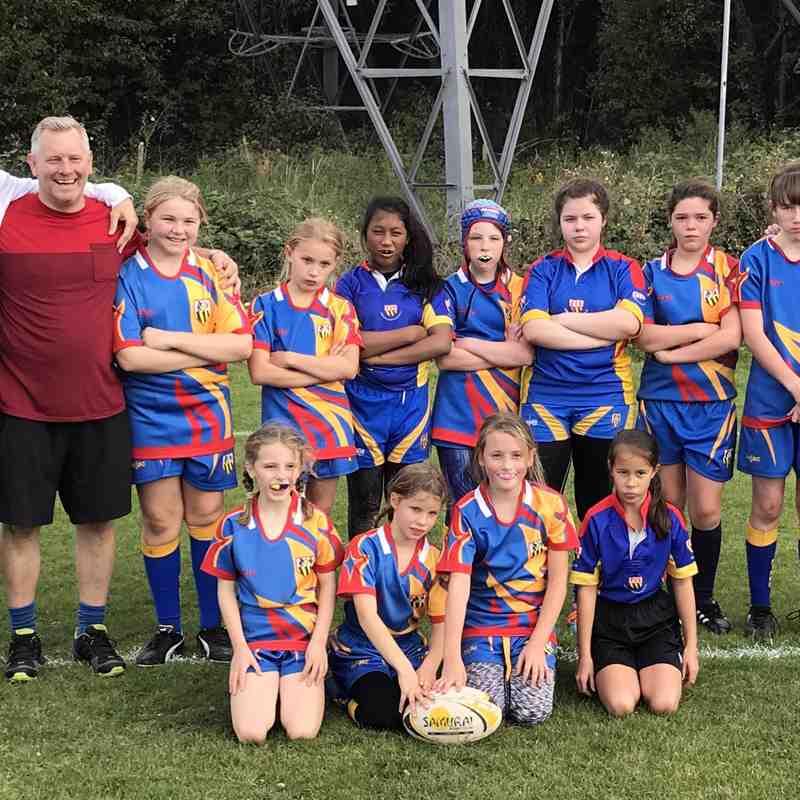 EIRFC Girls v Eton Manor/Hackney U13 08/10/17