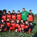 Under 12s beat West Bridgford Firebolts Black 4 - 2
