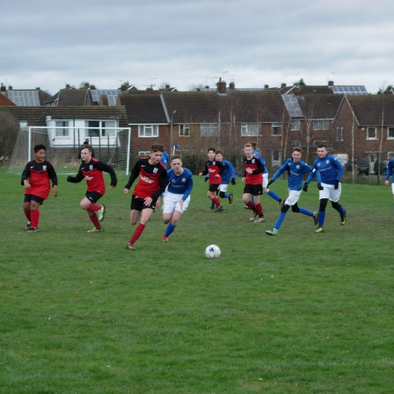 Away At Chesterfield Junior Blues