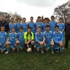 Crowmarsh Youth Comets U16  1 - 3  Chalgrove Cavaliers U16