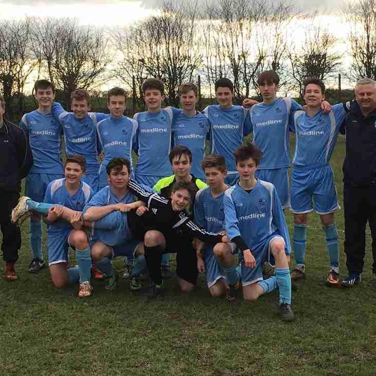 U16s win the League!