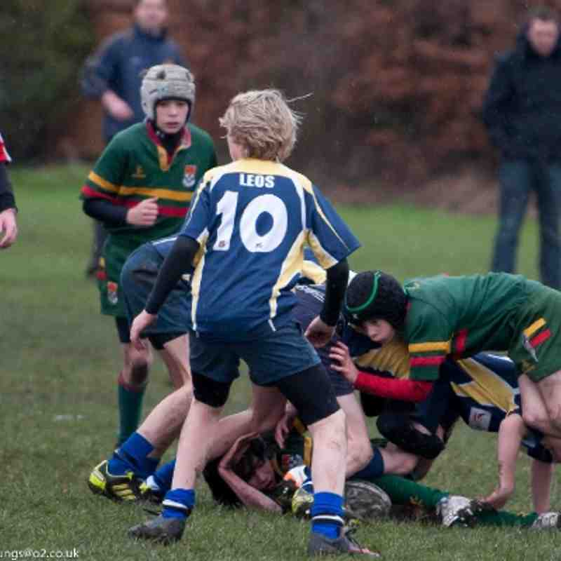 U13s Selby v Yarnbury Dec11