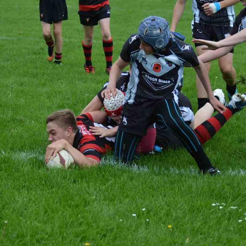 Birstall Vic U14's v Castleford Panthers