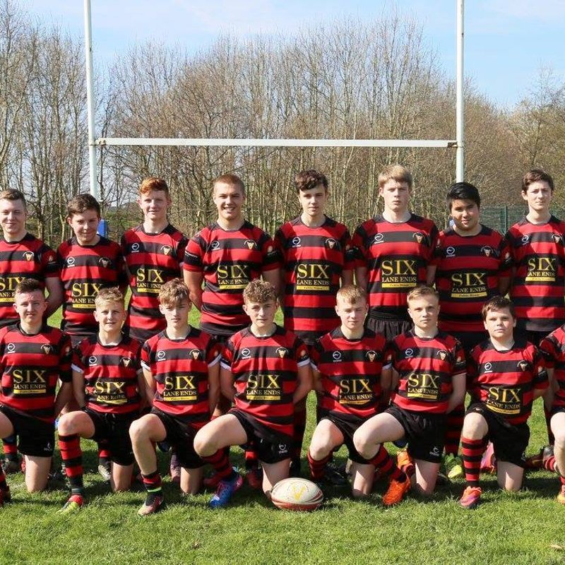 Under 15's   beat Castleford Panthers 26 - 22
