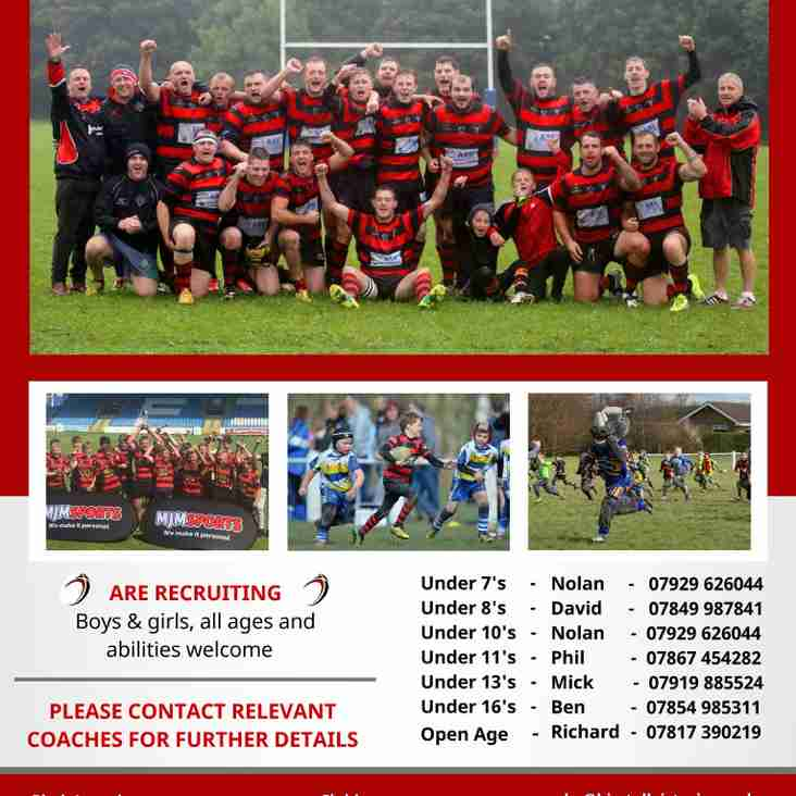 Club contact details - Coaches