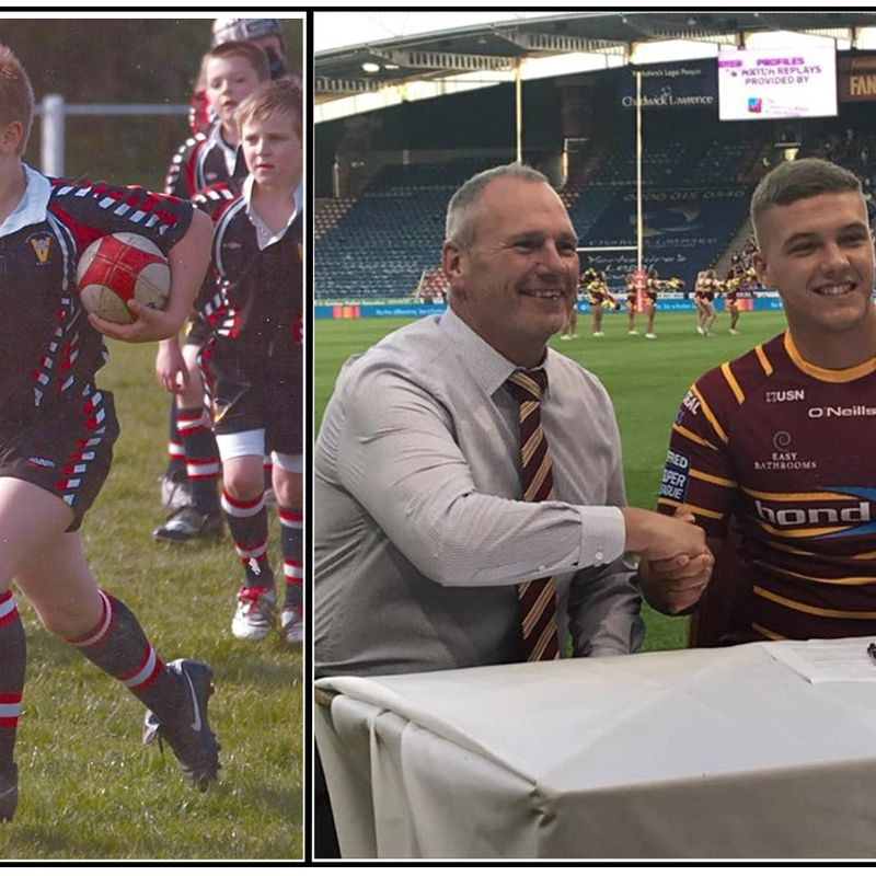 From Birstall Victoria to Huddersfield Giants