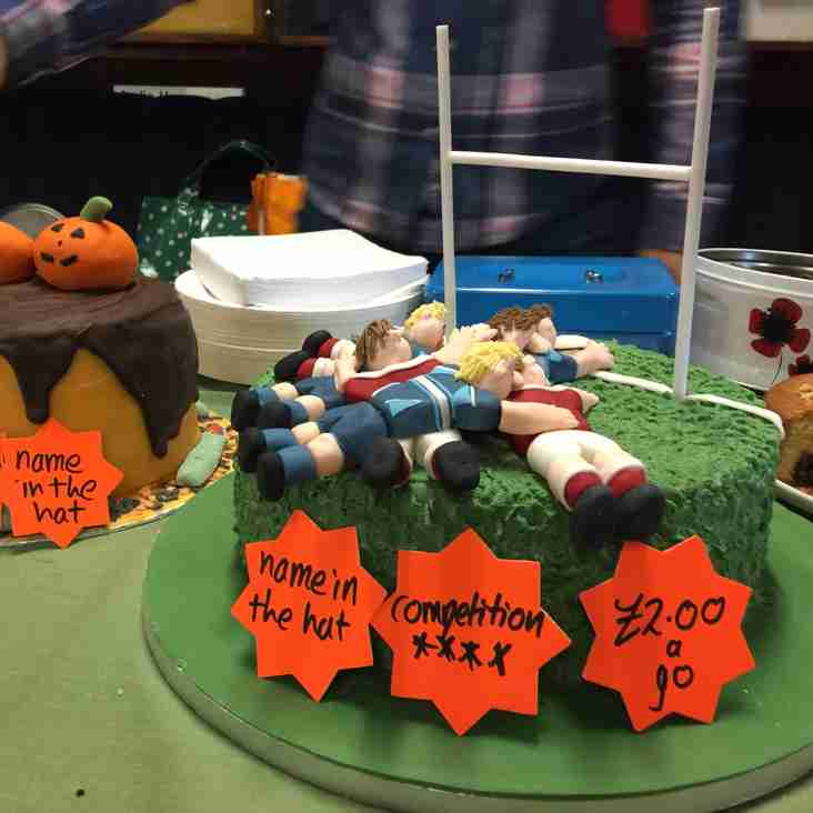 Newark Rugby Bake Off is a Huge Success!