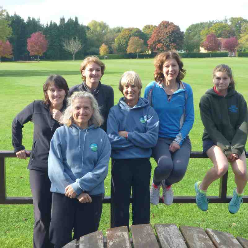 LadiesWinter League Team vs Wellow Oct 2015