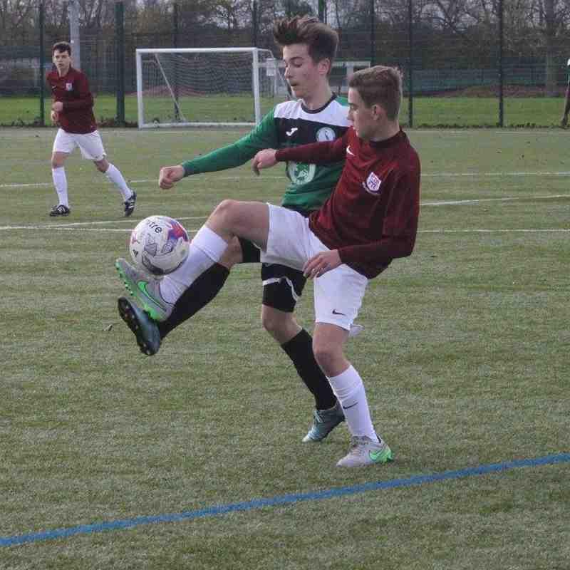 Potters Bar Town FC vs Biggleswade Town U15