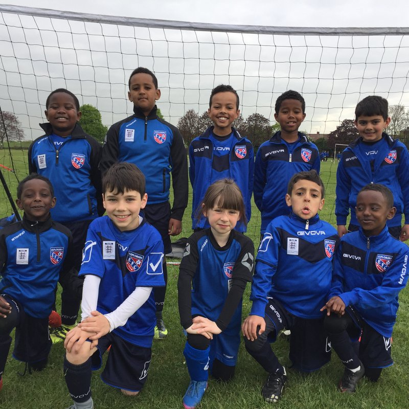 Under 9 Blues beat Harefield United 3 - 0