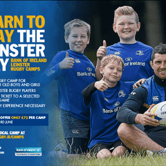BOI LEINSTER RUGBY CAMP IN SEAPOINT !