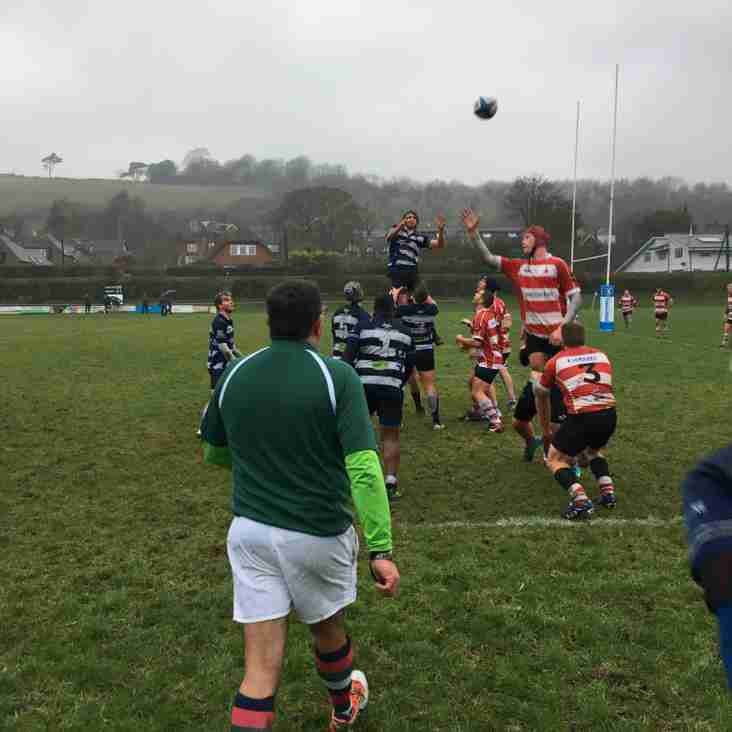 WHITEWASH FOR LEWES IN STICKY CONDITIONS
