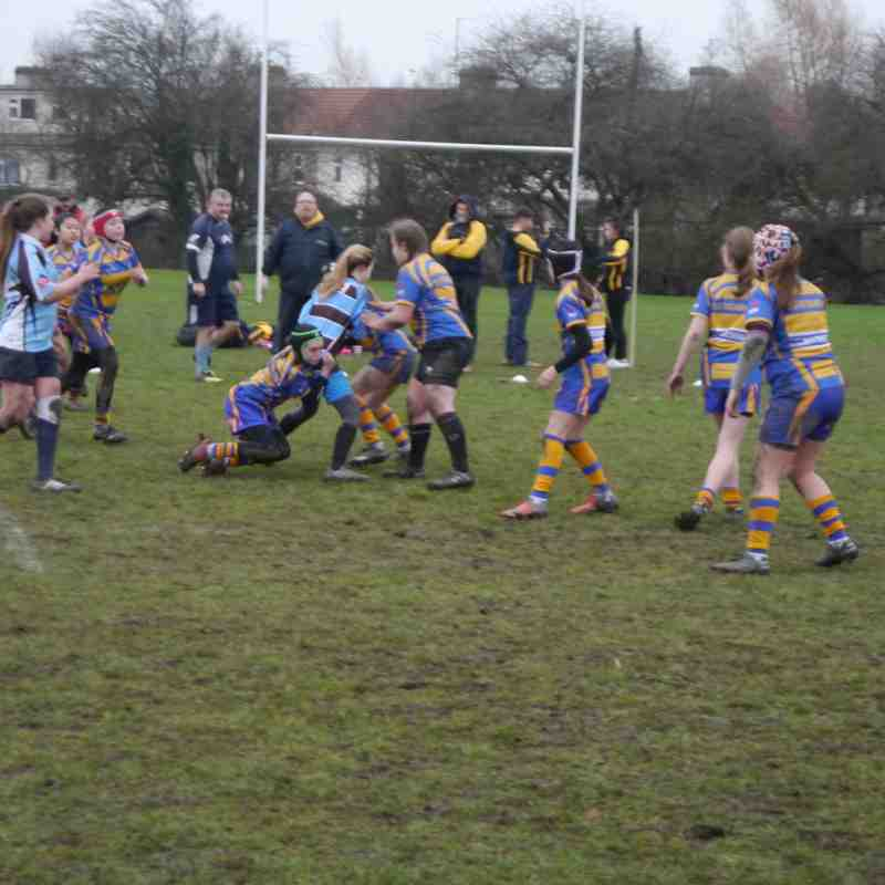 Under 13 girls vs Old Richians