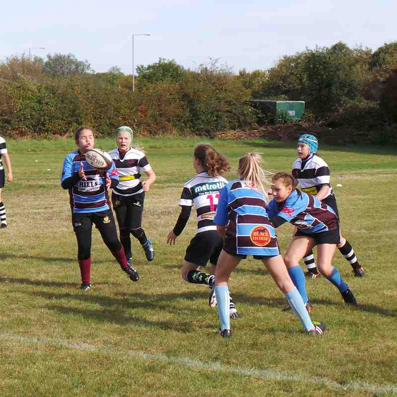 Under 13 Girls vs Chippenham 071018