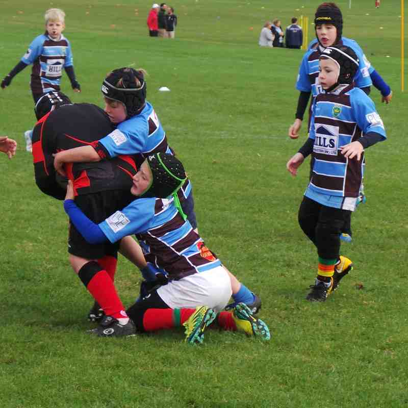Under 10s vs Old Reds 071018