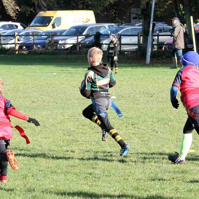 U8 Dragons vs Wisbech