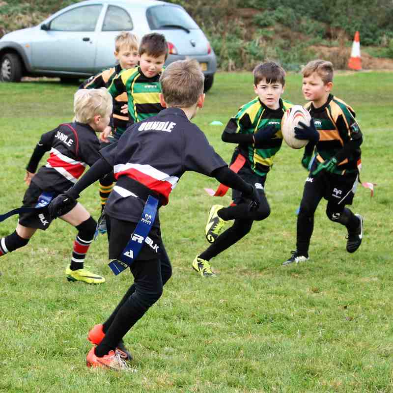 U8 Dragons vs Oundle
