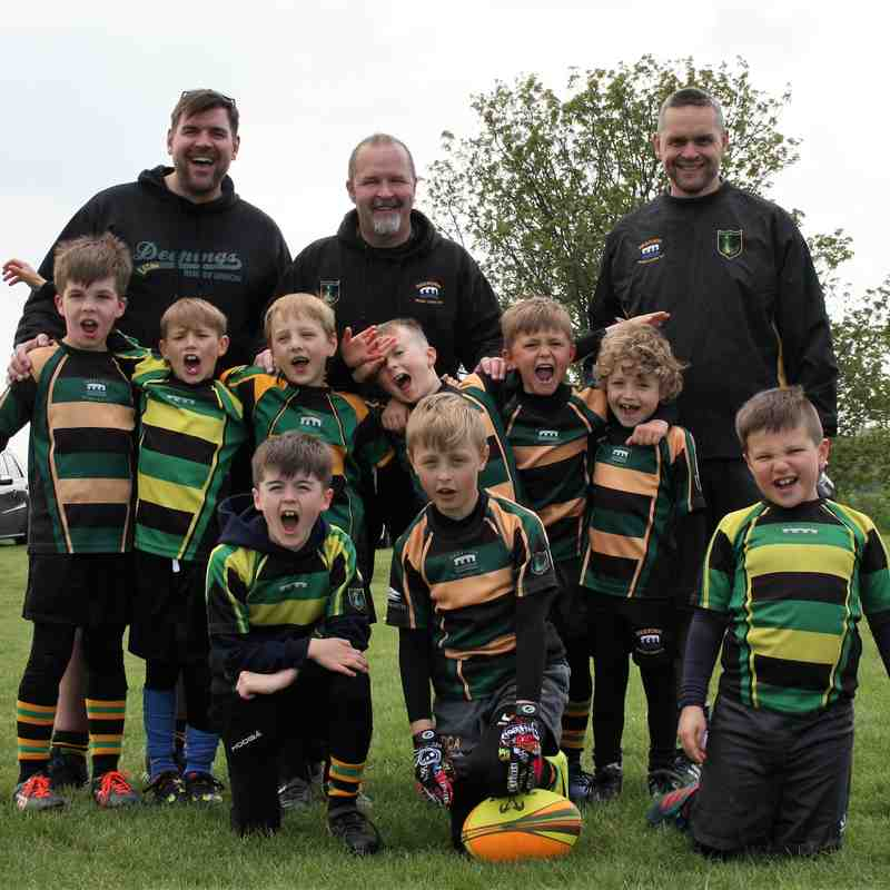 U8 Dragons Peterborough Festival 2017
