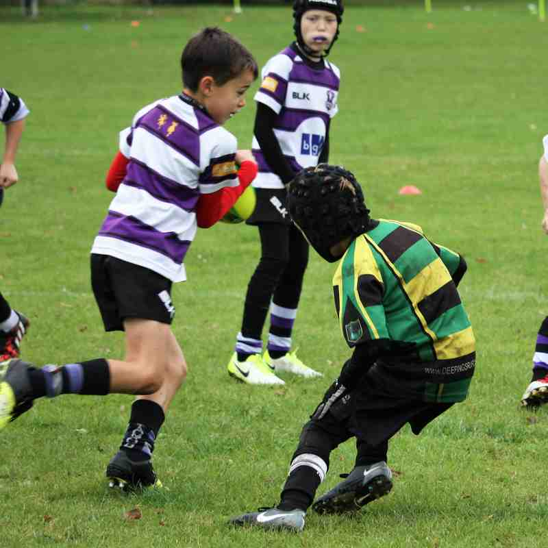 U9 Dragons vs Stamford Sept 2017