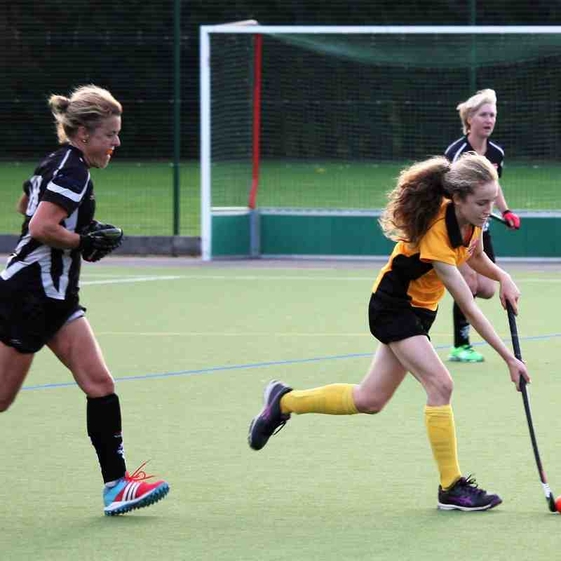 BDHC Ladies 2 vs Ladies 3 Oct 2017